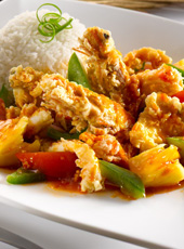 Sweet & Sour Seafood Rice
